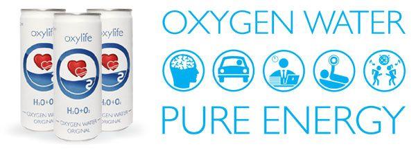 Oxygenated Water Energy Drinks