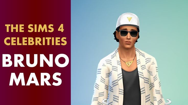 The Sims 4 Celebrities - Bruno Mars