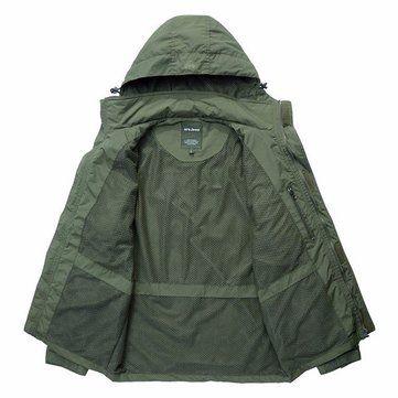 AFSJEEP Men Outdoor Casual Multi-functional Water Repellent Windproof Quick-drying Mesh Jacket Vest at Banggood