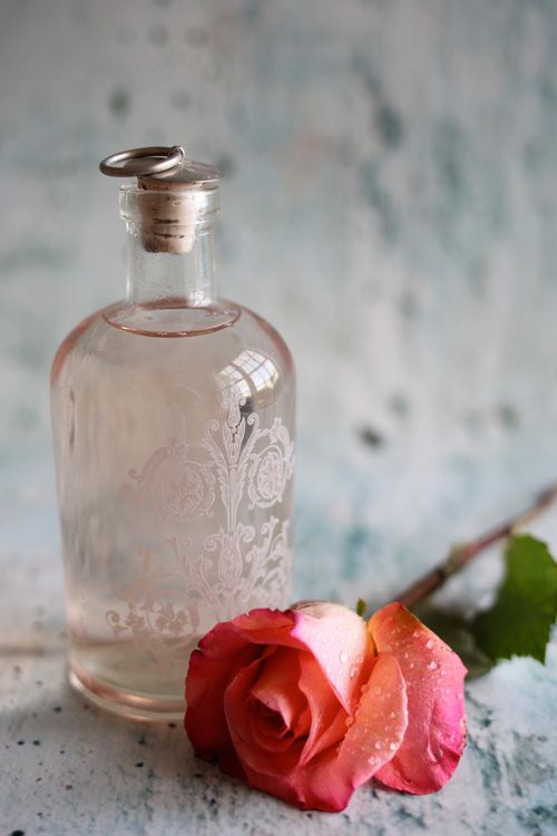 Herbs:  Make your own #rosewater.