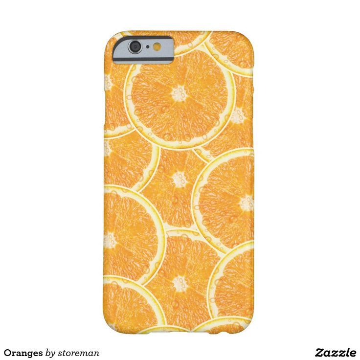 Oranges Barely There iPhone 6 Case