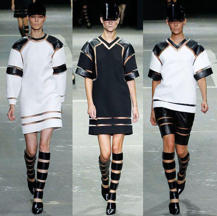la modella mafia Alexander Wang Spring 2013 3