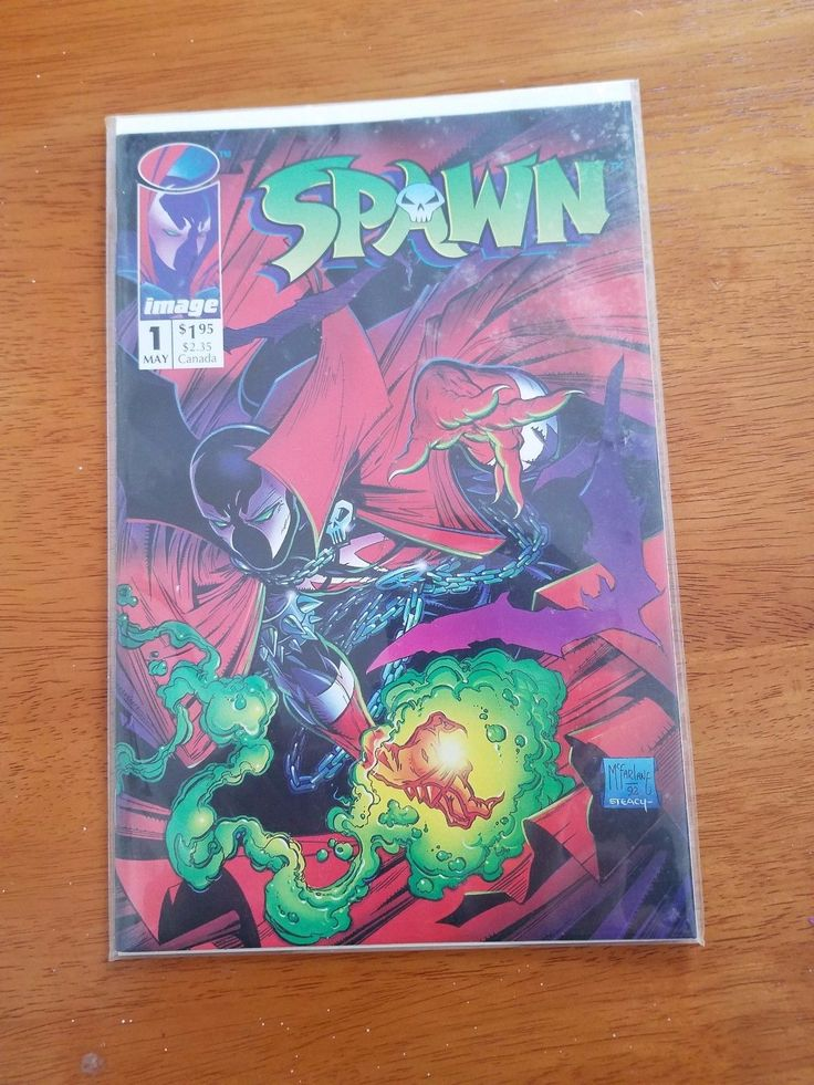Spawn #1 (May 1992, Image comics) Todd McFarlane: $10.00 (0 Bids) End Date: Monday Mar-12-2018 11:51:20 PDT Bid now | Add to watch list