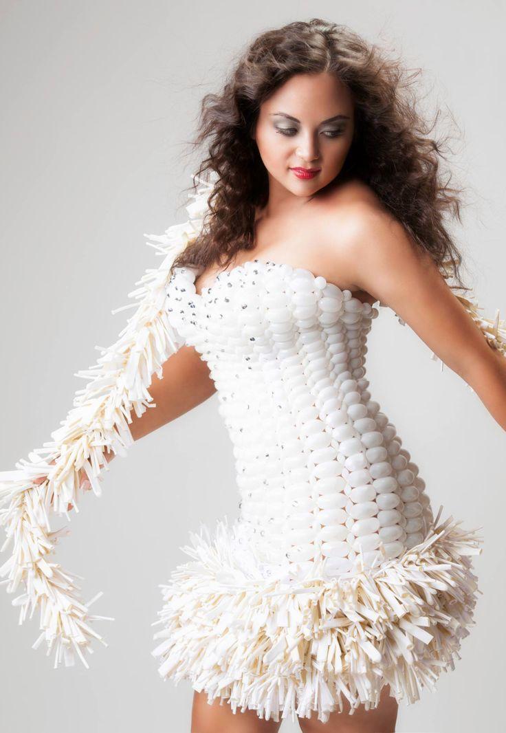 Balloon Dress Model - Daphne Durden Springs