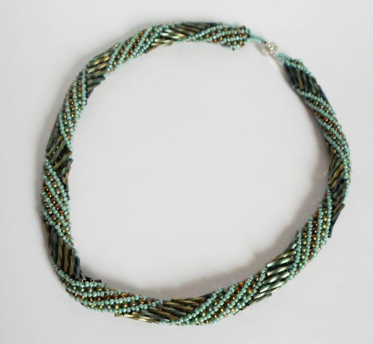 3003 Russian Spiral Necklace by Darlene Pfahl
