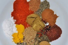 Chef Jeenas food recipes: Middle Eastern Spice Mix Recipe