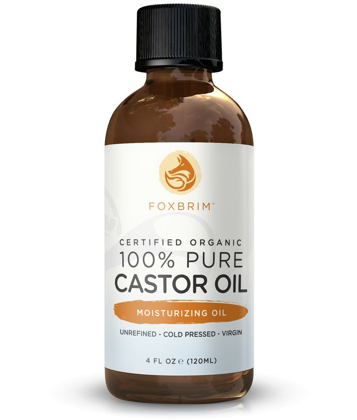 100% Pure Organic Castor Oil
