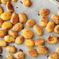 Roasted Domino Potatoes - Bon Appétit