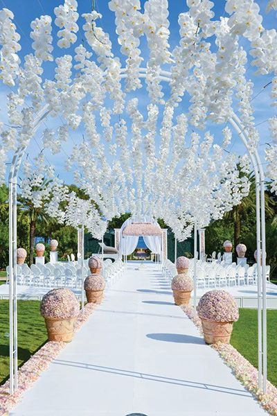 Unbelievably dreamy wedding decor | John Labbe Photography