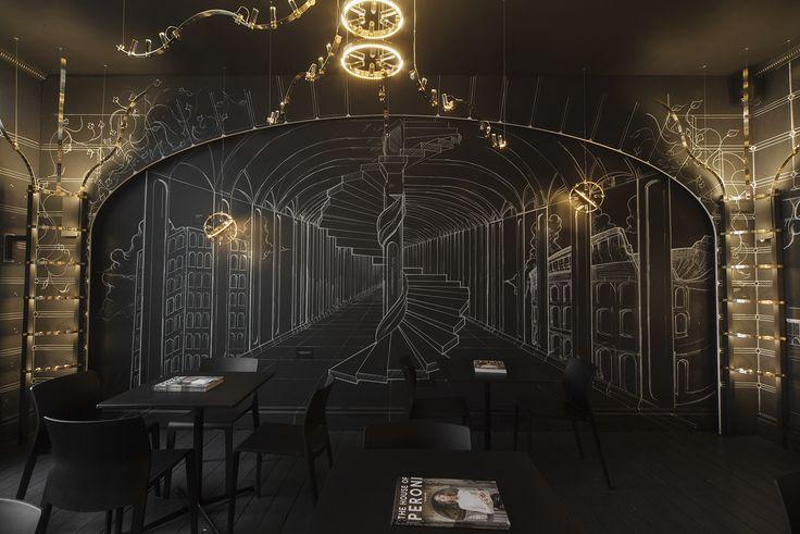 Baroncelli's 'Roma Phantasma' at The House of Peroni, Lincoln's Inn Fields, London 2014