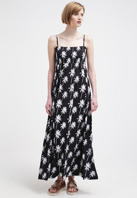 098ca1e64f Maxikleid - black, white @ Zalando.de 🛒 | My Dresses | Dresses, I ...