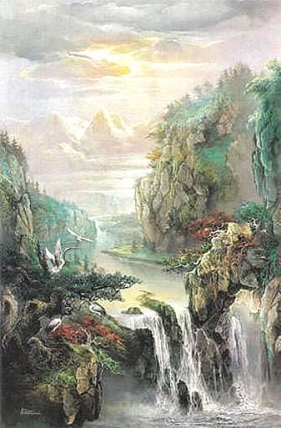 Chinese Style Wall Murals