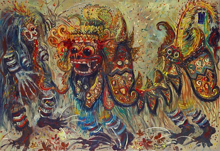 Barong and Rangda
