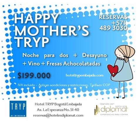 Les tenemos un plan muy Tryp para el día de la madre!!
