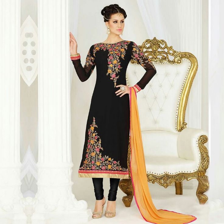 255 best Designer Suits images on Pinterest | India, Suits for ...