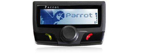 Parrot CK3100 LCD Bluetooth Car Kit LCD screen displays standard mobile phone information: incoming calls, recent calls, missed calls, voice mail, directory, ect. Hands-free, unidirectionnal microphone provides voice recognition dialling of up to 150 names, while reducing background noise and ambient echo. Browser button allows users to scroll through menus and control the volume. Automatically mu... #Parrot #CarAudioOrTheater