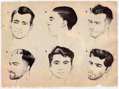 Illustrations Of Cuts By Head Barber Dan Diemidio Of Fscrber In