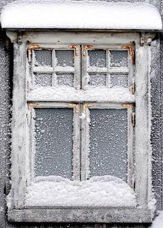 Winter white window