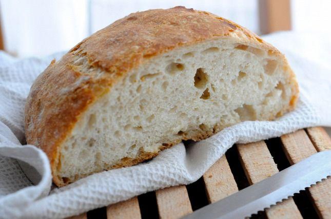 Zárva a bolt, de nincs otthon kenyér? - dagasztás nélküli kenyér - előző este összeállítani, másnap kisütni