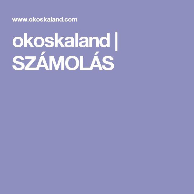 okoskaland | SZÁMOLÁS