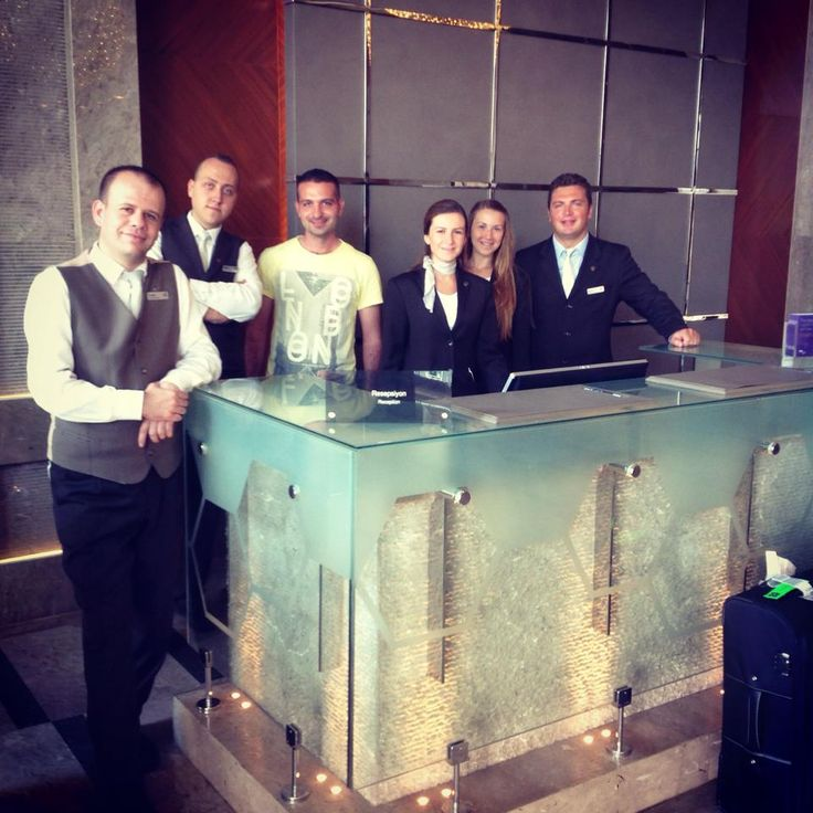 Dynamic Team: CHECK !  #sheraton #bursa #sheratonbursa #hotel #dynamic #team #associates #reception #welcome #smile