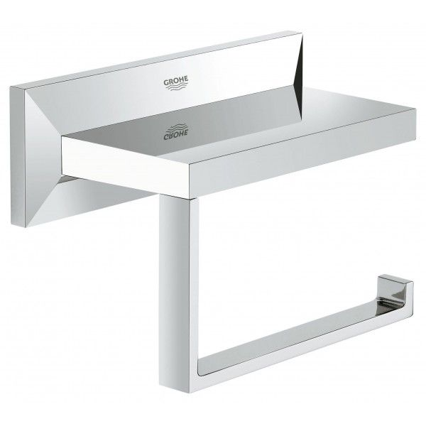 Держатель туалетной бумаги GROHE Allure Brilliant без крышки хром 40499000