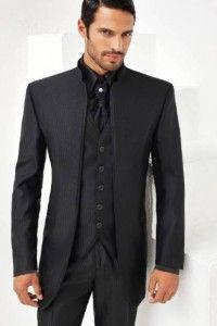 Vestito nero uomo zara overalls