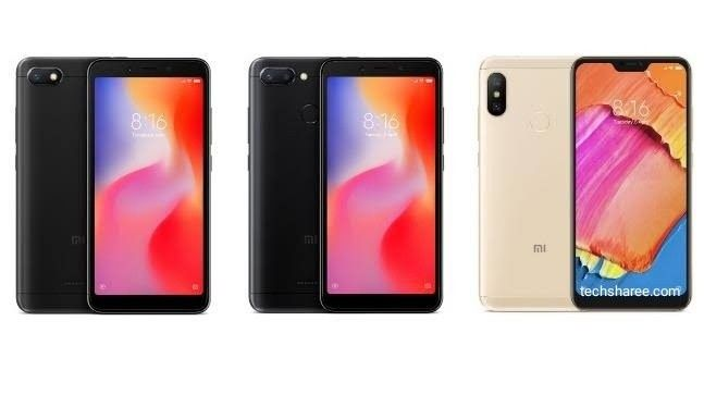Redmi 6a Redmi 6 Pro And Redmi 6 Cheap Chance To Buy Three Phones Best Mobile Xiaomi