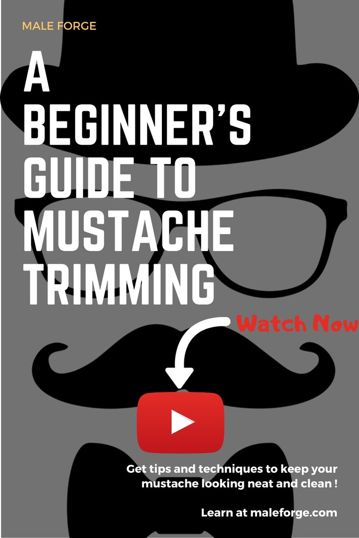A beginners guide to mustache trimming in 2020 how to