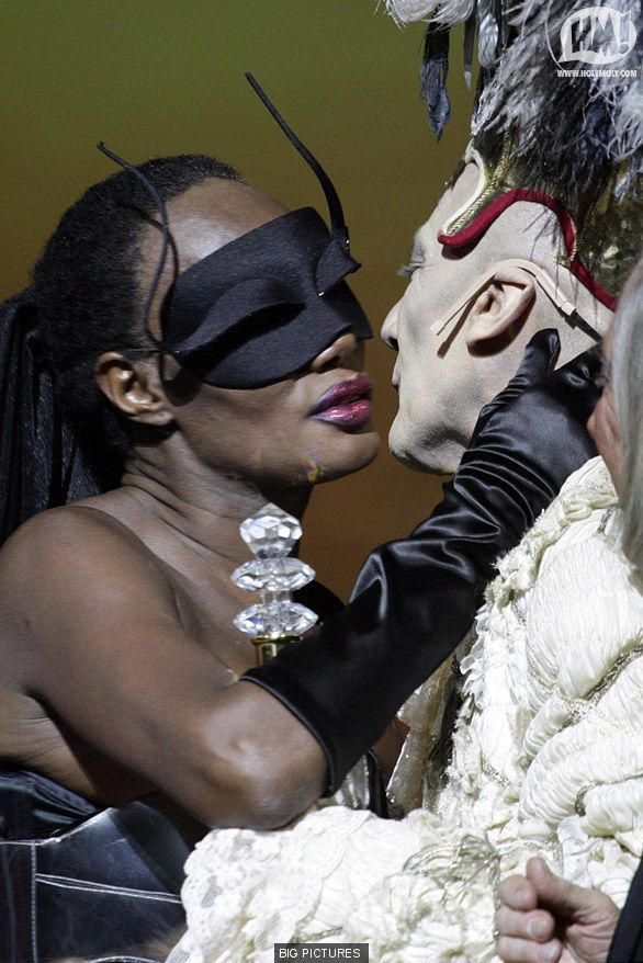 Grace Jones 'Cavalchina' Ball in Venice  with Prince Maurice
