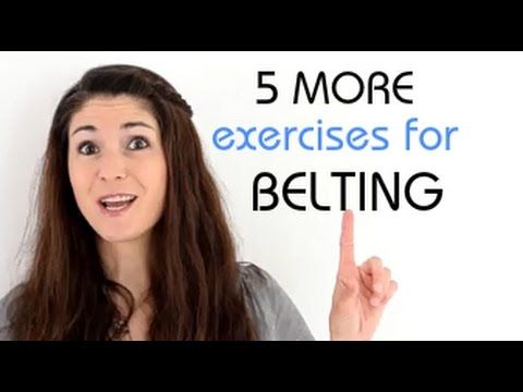 Freya's Singing Tips: 5 MORE exercises for BELTING - YouTube