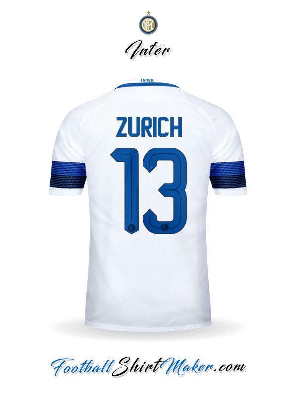 Camiseta Inter 2016/2017 Visita Zurich 13