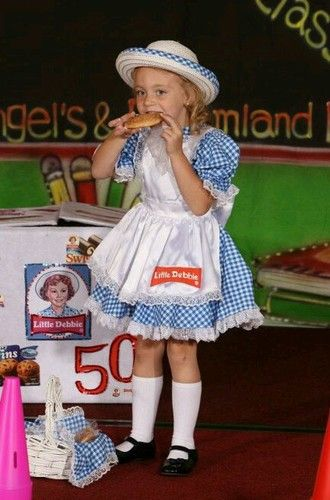 pageant ooccasualcommercial little debbie - Pageant Girl Halloween Costume
