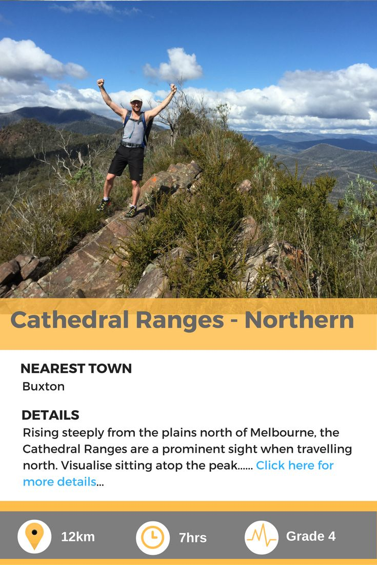 Cathedral Ranges (Northern) - a challenging day hike in Melbourne, Australia