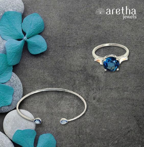 Buy this #Ring & #Bracelet Combo and Have a Chance to Win Rs. 2000 Gift Voucher. A best deal for those who love the color blue. Get it today exclusively at #Aretha at a stunning 40% off. Blue shiny #stones with fine #silver finish make these 925 silver creations worth flaunting. Best for festive occasions. #Ring #bracelet #Jewellery #jewelry #casualjewellery #partywear #onlineshopping #onlinesale #themebased #realjewellery