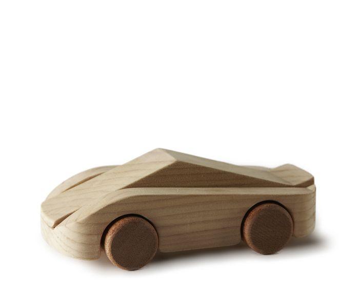 LA FANGIO wooden car designed by Francisco Gomez Paz for Tobeus