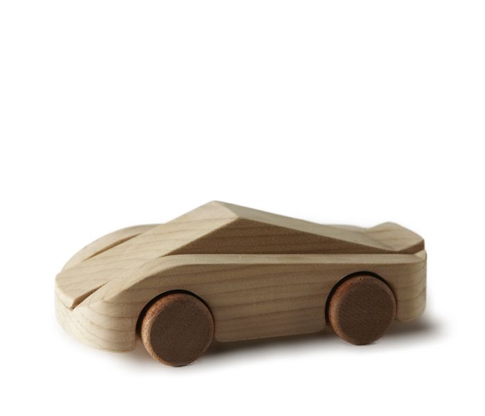 LA FANGIO wooden car designed by Francisco Gomez Paz for Tobeus