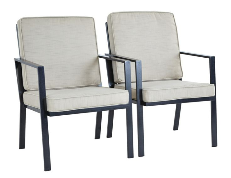 Evesham 2 Patio Dining Chairs & Cushions