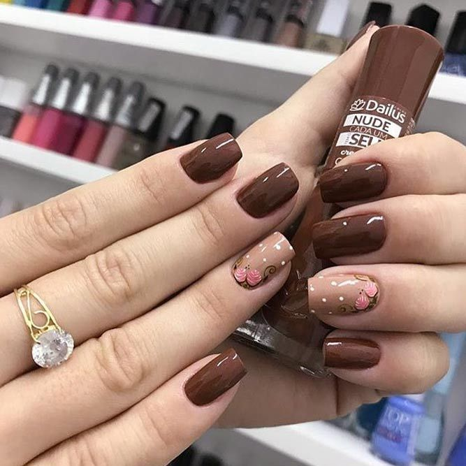 21 Trendy Fall Color Nails For Your Perfect Mani – Nail art