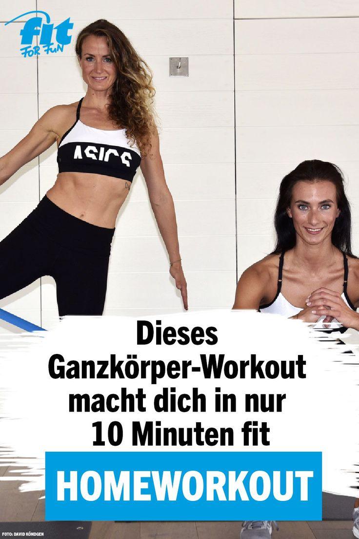 Du suchst ein effektives Home-Workout, mit dem du ordentlich Kalorien verbrennen…