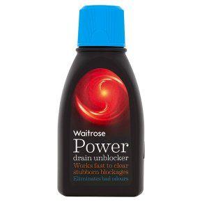 Waitrose Power drain unblocker