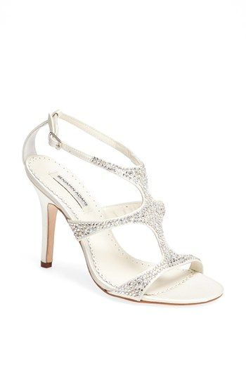 Benjamin Adams London 'Fox' Crystal Embellished Sandal available at #Nordstrom