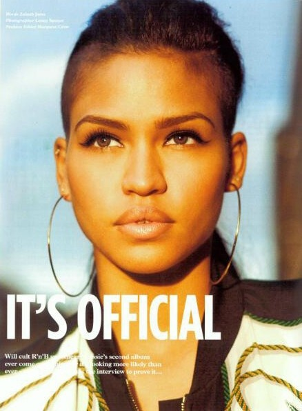 CASSIE FOR WONDERLAND MAGAZINE APRIL/MAY 2012