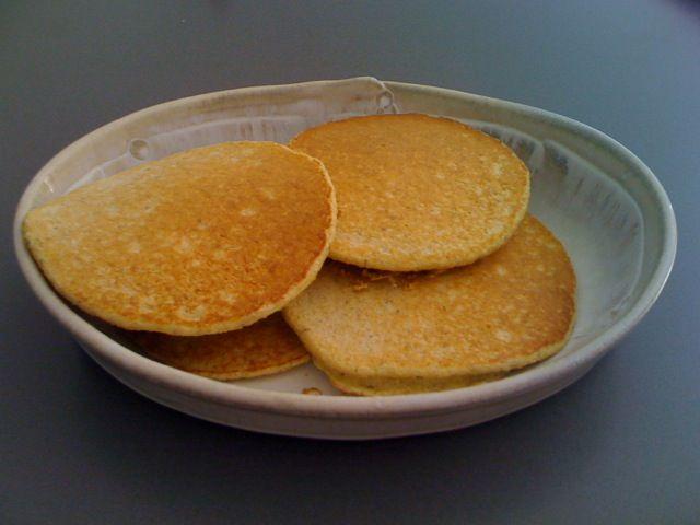 No Sugar, No Fat Dukan Gallette, aka, Bread, toast, pancake, etc. Recipe here.