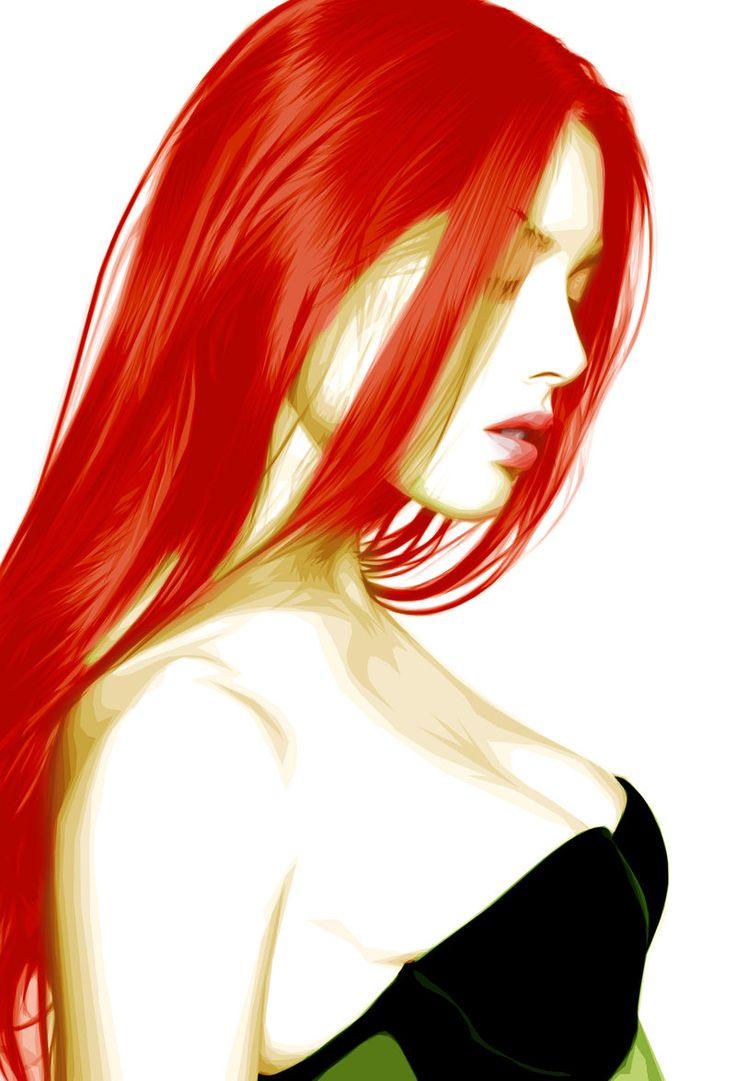 Poison Ivy by *gzeus01 on deviantART