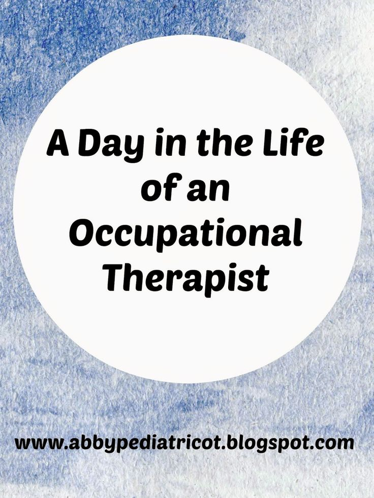 Best All About Ot Images On   Occupational Therapy