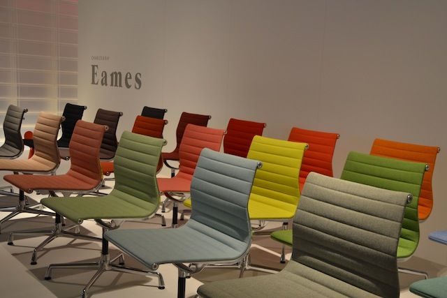 Eames chair goes colourfull