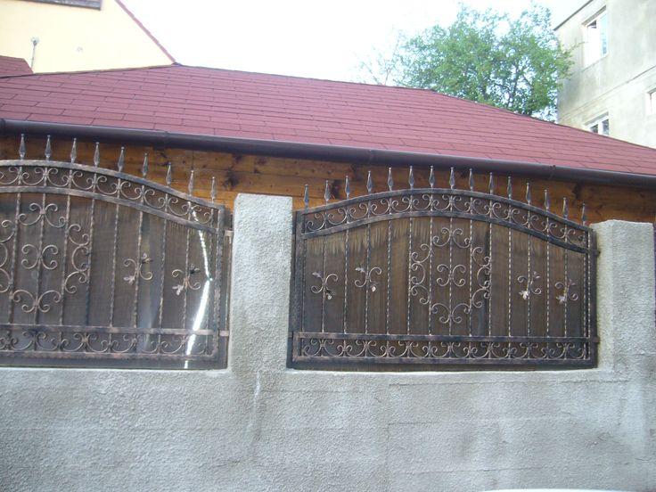 Gard fier forjat  Model G01