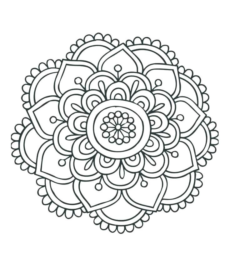 Image Result For Animal Mandalas Mandala Coloring Books Mandala Coloring Pages Easy Mandala Drawing