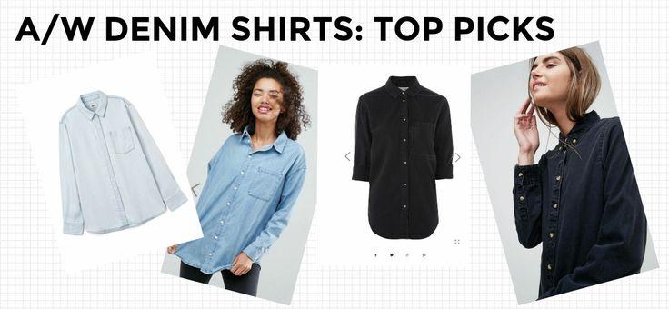 women's denim shirts best of the best #style #fashion #denim #womensfashion #denimshirts #awstyle #autumn